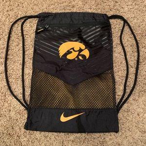 NIKE Iowa Hawkeye Draw String Bag